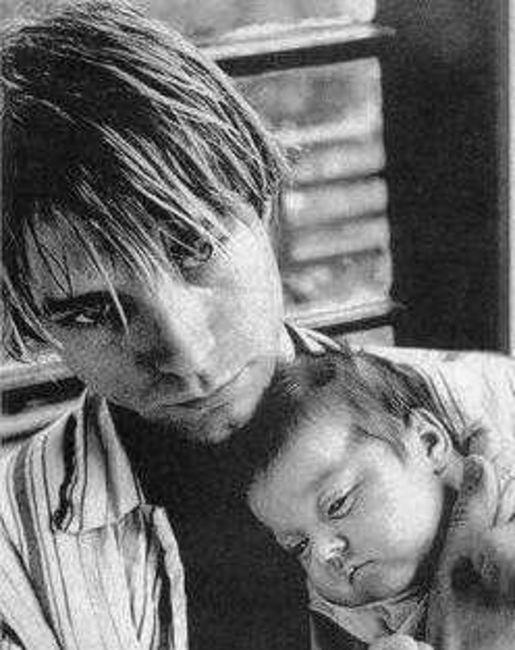 Poze Poze Nirvana - Kurt and Frances :)