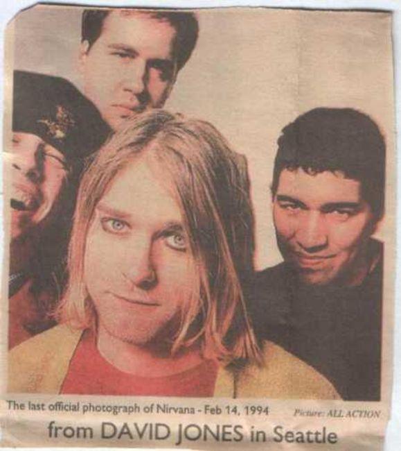 Poze Poze Nirvana - band nirvana