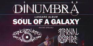 DinUmbra lanseaza albumul Soul Of A Galaxy pe 26 mai, la club Fabrica