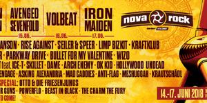 Noi trupe anuntate la Nova Rock