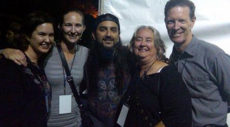 Mike Portnoy s-a intalnit cu familia lui The Rev (foto)