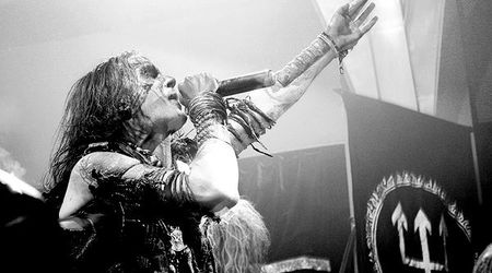Poze cu Watain si Destroyer 666 in concert la Silver Church
