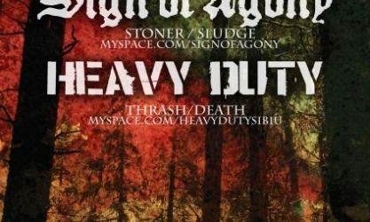 Concert Sign Of Agony si Heavy Duty John's Cafe Deva
