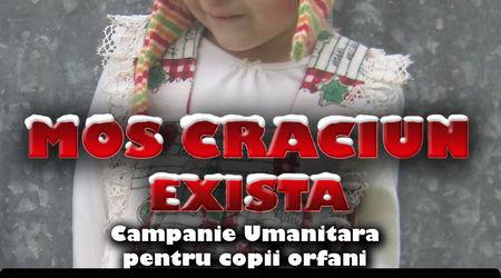 Mos Craciun Exista: O campanie umanitara pentru copii orfani