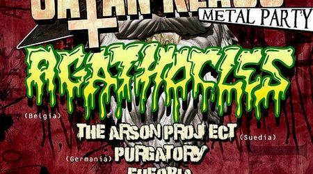 Satan Klaus Metal Party 4 in Cage Club: Agathocles headliner