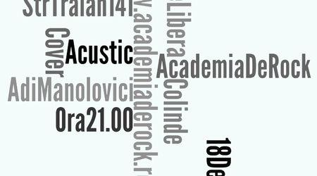 Adi Manolovici & Academia de Rock Acustic live la Woodstock Cafe