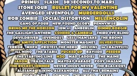 Avenged Sevenfold se retrag din circuitul Soundwave 2011