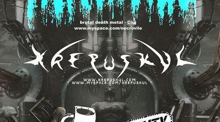 Concert Necrovile, Krepuskul si Heavy Duty in Sibiu
