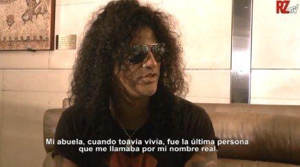 Slash a fost intervievat in Spania (video)