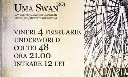 Concert Econo si Uma Swan in Underworld Bucuresti
