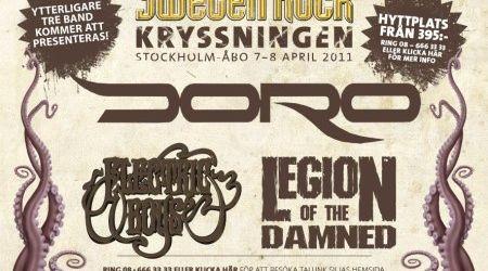 Legion of the Damned confirmati pentru Sweden Rock Cruise 2011