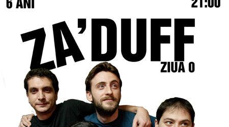 Concert Aniversar Ziua 0 cu Za'Duff in Wings Club