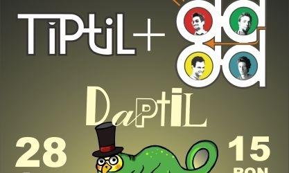 Spot video pentru concertul Tiptil si The dAdA din Wings Club