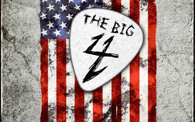 Un singur concert The Big Four pentru America de Nord