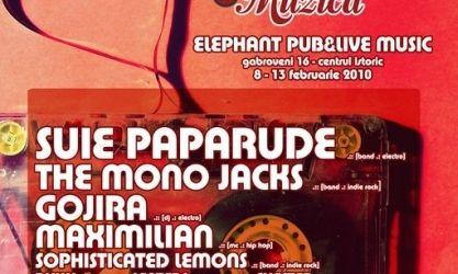 Saptamana Indragostitilor de Muzica in Elephant Pub Bucuresti