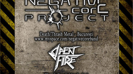 Concert Negative Core Project in bar Hand din Iasi