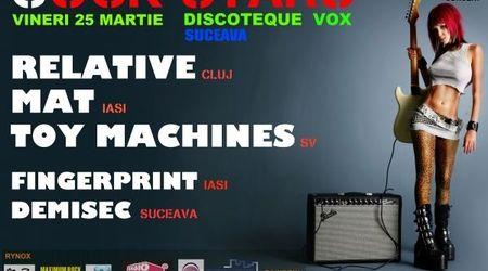 Concert Relative si multi altii in Discoteque Vox Suceava