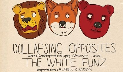 Concert Collapsing Opposites si The White Funz in La Gazette Cluj