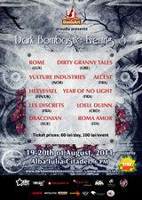 Un nou sondaj pentru Dark Bombastic Evening 3