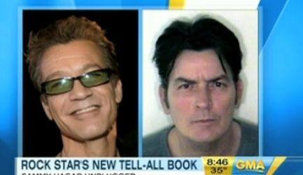 Sammy Hagar: Charlie Sheen seamana cu Eddie Van Halen
