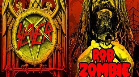Rob Zombie, Slayer si Exodus pornesc in turneu
