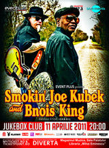 Castigatorii invitatiilor la concertul Smokin' Joe Kubek