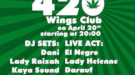 Concert caritabil LIVE 420 Wings Club din Bucuresti