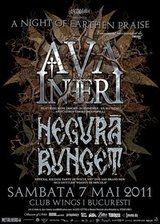 Spot video pentru concertul Ava Inferi si Negura Bunget
