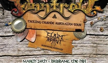 Finntroll au fost intervievati in Australia (video)