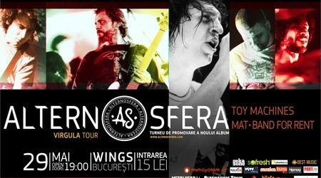 Concert Alternosfera si multi altii in Wings Club Bucuresti