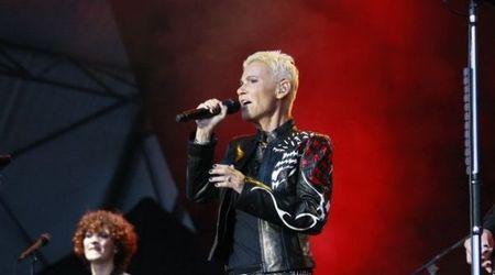 Poze cu Roxette in concert la Bucuresti