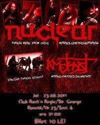 Concert Amethyst si Nuclear in Rock'n Regie Bar din Bucuresti