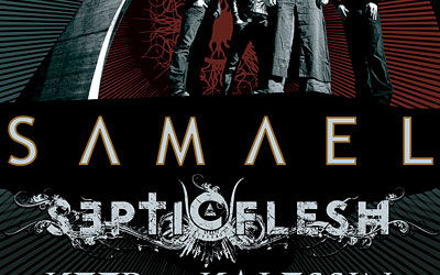 Concert Samael, Septicflesh si Keep of Kalessin la Bucuresti