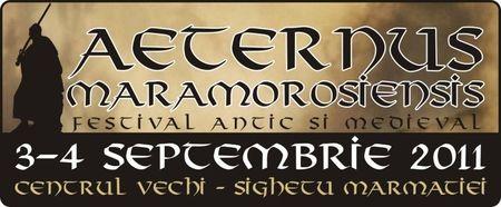 Aeternus Maramorosiensis: Festival Antic si Medieval in Sighet
