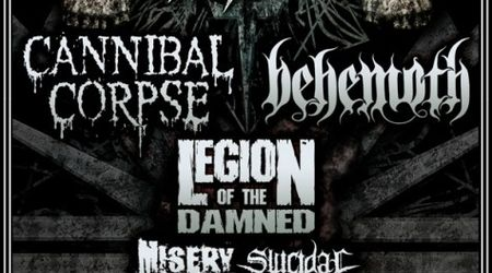 Cannibal Corpse merg in turneu european cu Behemoth