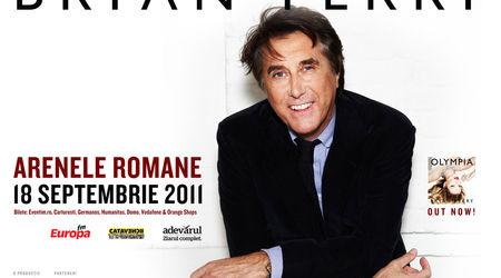 Bryan Ferry a pregatit un show de zile mari pentru concertul de la Bucuresti