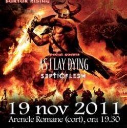 Cumpara acum bilete la concertul Amon Amarth si As I Lay Dying la Bucuresti