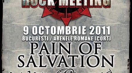 Concert Pain Of Salvation duminica la Arenele Romane