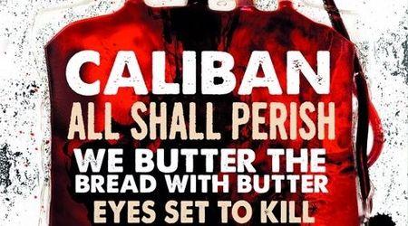 Caliban si All Shall Perish pornesc in turneu european