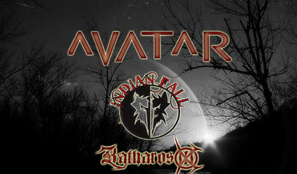 Concert Avatar si Indian Fall la Timisoara