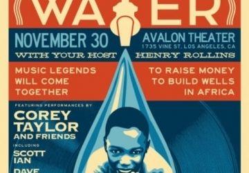 Corey Taylor, Scott Ian si Dave Navarro ajuta oamenii din Africa