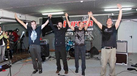 Partizan a oferit un regal de muzica rock in Garajul Europa FM
