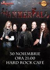 HammerFall la Bucuresti - The hammer fell hard!