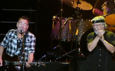 Bob Seger a cantat alaturi de Bruce Springsteen (video)