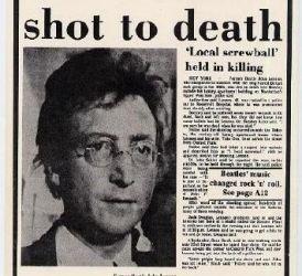 31 de ani de la moartea lui John Lennon