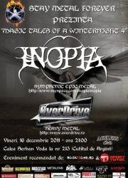 Concert Inopia si OverDrive vineri in Ageless Club