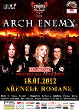 Castigatorii invitatiilor la concertul Arch Enemy de la Bucuresti