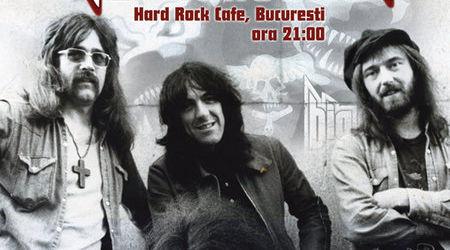 Concert Nazareth vineri la Hard Rock Cafe