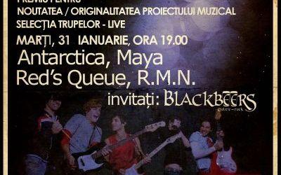 Trupa Blackbeers canta in incheierea preselectiei Trofeu ClubA