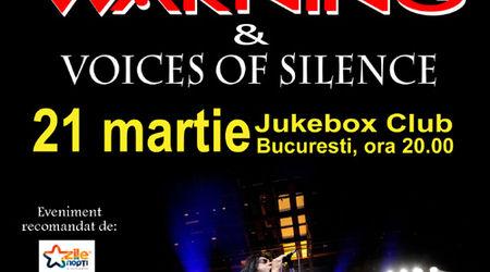 Filmari din turneul FATES WARNING. Concert la Bucuresti